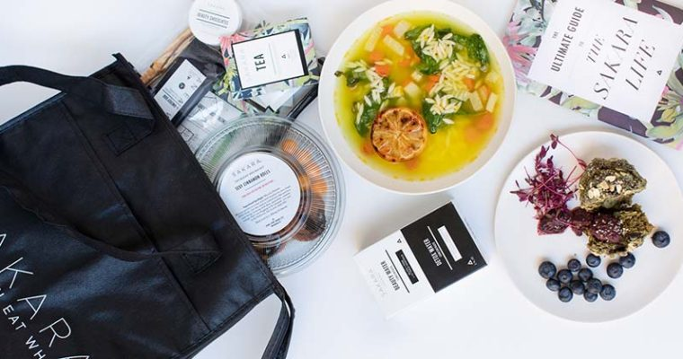 Sakara Life: Healthy, Organic Pre-portioned Meals to help you look and feel your best