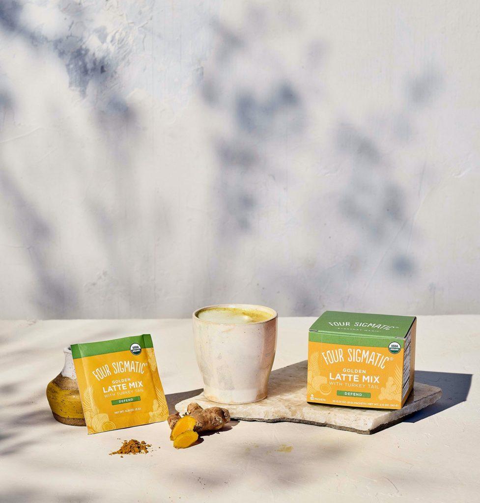 Four Sigmatic Golden Milk Latte Mix